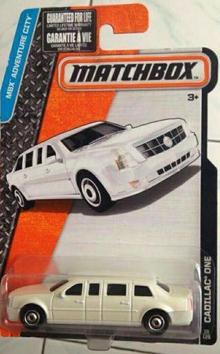 Matchbox Cadillac limousine