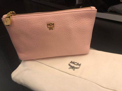 MCM PINK POUCH BRAND NEW