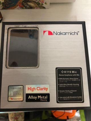 Nakamichi earpiece