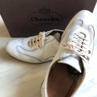 🚚 Church's義大利手工小白鞋