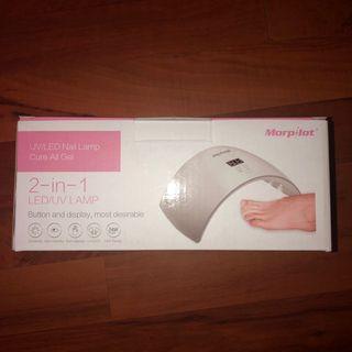 2-in-1 LED/UV nail lamp