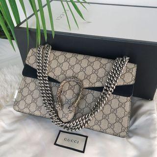 Authentic Gucci Dionysus GG Shoulder Bag - New