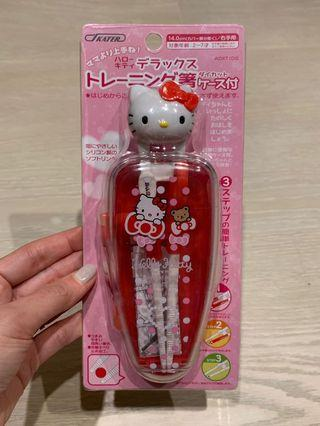 Hello Kitty Training Chopsticks