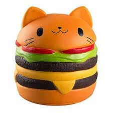 JUMBO HAMBURGER LICENSED SQUISHY