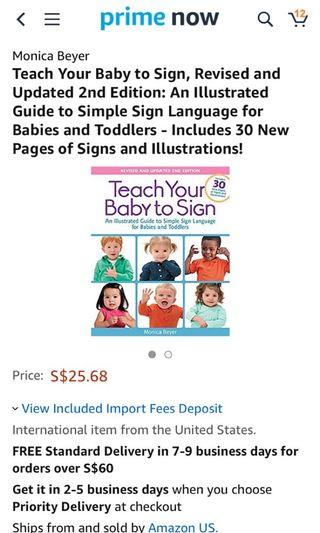 Teach your Baby to Sign, Revised & Updated 2nd version