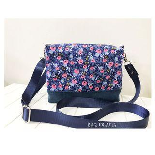 Handmade small floral sling