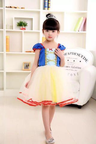 🌟INSTOCK🌟 Snow White Dress Girl Party Dress Princess Dress