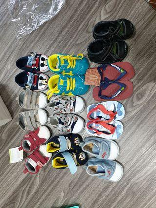 Assorted Baby Shoes and Sandals