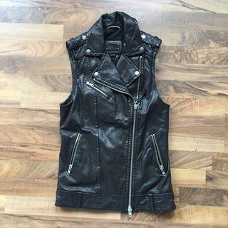 Mackage Frederica Moto Leather Vest