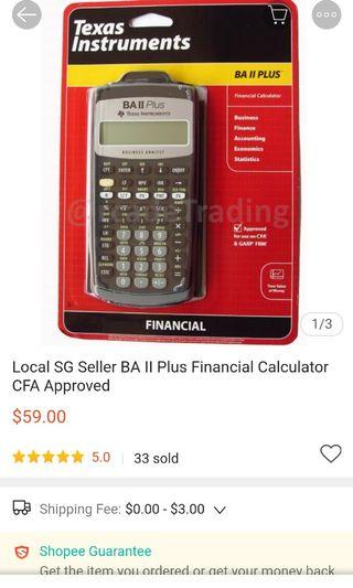 Calculators + BRAND new