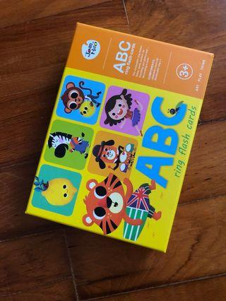 Educational ABC Ring Flash Cards