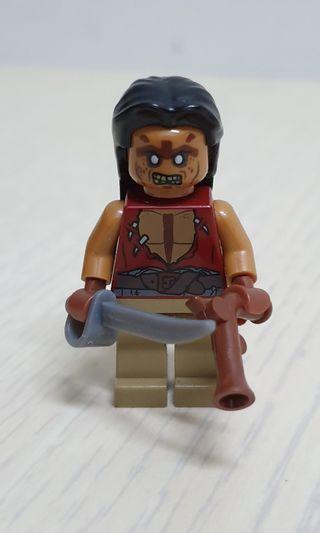 Lego Pirates of the caribean, yoeman zombie minifigures