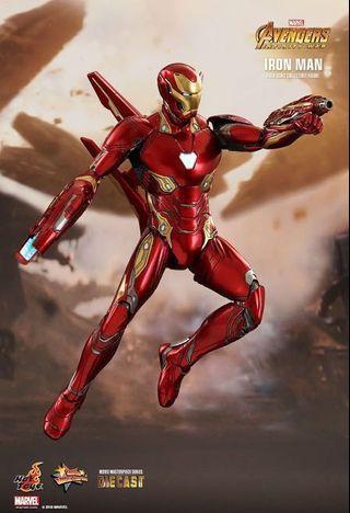 Iron Man Hot Toys Avengers Infinity War Mark 50 (L); 4 May 2018 95折單