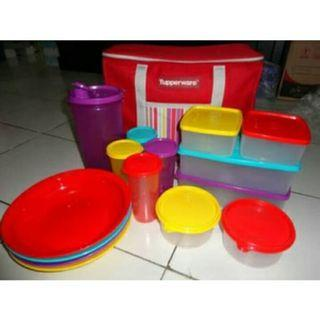 Tupperware Set Family Day Out Picnic Sale