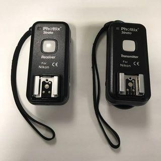 Phottix strato 4 In 1 Wireless Trigger (Nikon Mount)