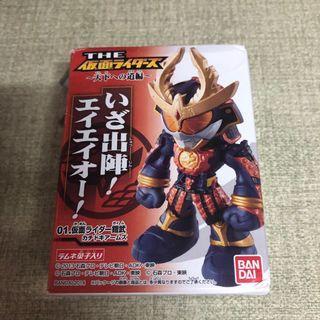 幪面超人gaim鎧武 絕版Q蛋盒蛋 大將軍形態