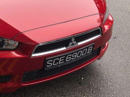 SCE6900B Number plate for sale