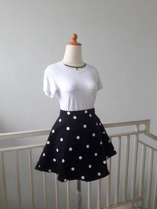 #BAPAU Polkadot Skirt