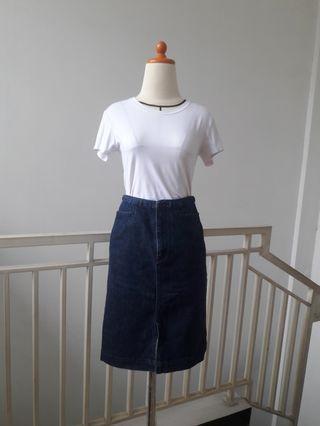 #BAPAUJeans skirt