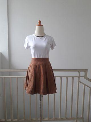 #BAPAUBrown Skirt