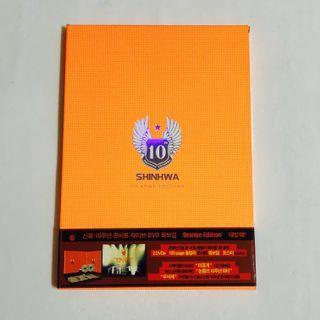 [DVD] Shinhwa 10th Anniversary Live in Seoul - Orange Edition Korea Version