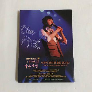 [DVD] Andy - The First Live Concert (Korea Version)