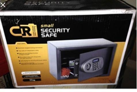 Safe and secure safe