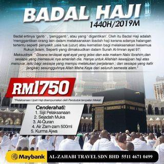 Badal Haji 2019