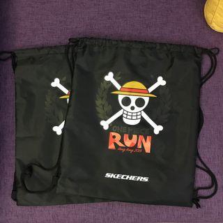 【包郵】One Piece Run 2019 紀念索袋 (有 2 個)