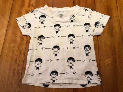日本 Design Tshirts Store Graniph 小丸子 Tee / T-Shirt / T恤 size 90cm