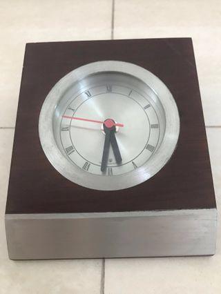 Selangor Pewter Table Clock