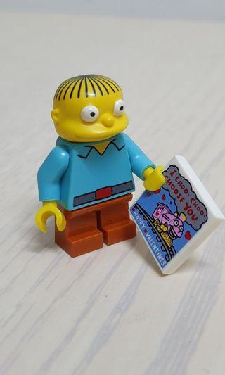 Lego 71005 Collectible Minifigure The Simpsons Series 1 : Minifigure #10 - Ralph wiggum