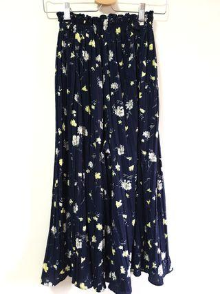 BNWT Floral Pleated Culottes
