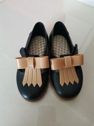 Mini Melissa Black shoes US10