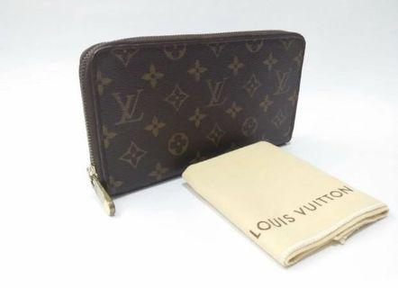 LV Travel Zippy Wallet Monogram with dustbag