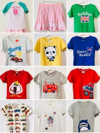 Kids T-shirt @ $5 / Sets & Dresses @ $10