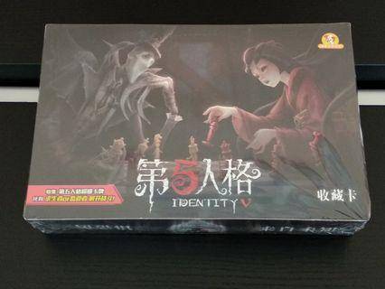 100% New 整盒 第五人格 遊戲 收藏卡 288張 (36包x8張/含36張閃)