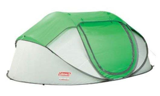 Coleman 4 person pop up tent
