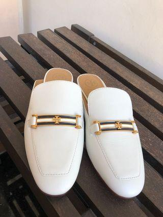 Tory Burch Amelia Backless Loafers Mules Original