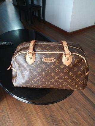 Authentic Louis Vuitton Montorguiel GM