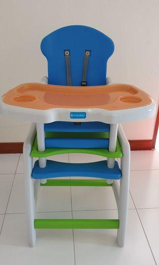 🚚 Lucky Baby convertible high chair