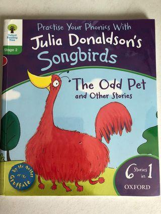 Julia Donaldson's songbirds - the odd pet and other stories