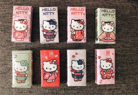 Limited Edition Hello Kitty Tissue Packets