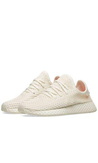 🚚 Adidas Deerupt Runner Off White (All size available)