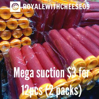 Nerf Foam Darts Mega Suction $3 for 2 packs