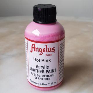 ANGELUS Acrylic Leather Paint - Hot Pink