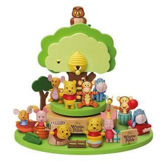 📢Sales • 7-11 Winnie the Pooh Wooden Figurines