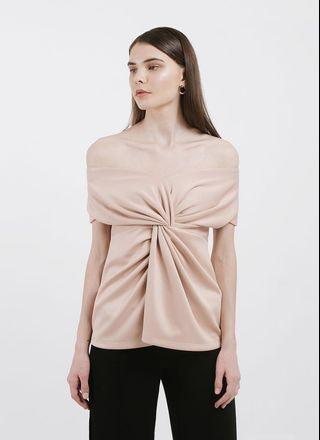 Lene Nude Alija Off-Shoulder Top