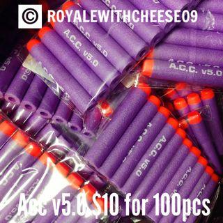 Nerf Foam Darts ACC V5.0 $10 for 10packs