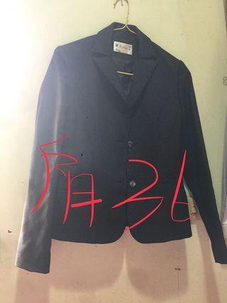 制服套裝(外套*1,背心*1,裙子*3)(36,s號)